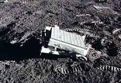 Лазерный отражатель на Луне